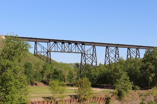 Heart River Railway Bridge