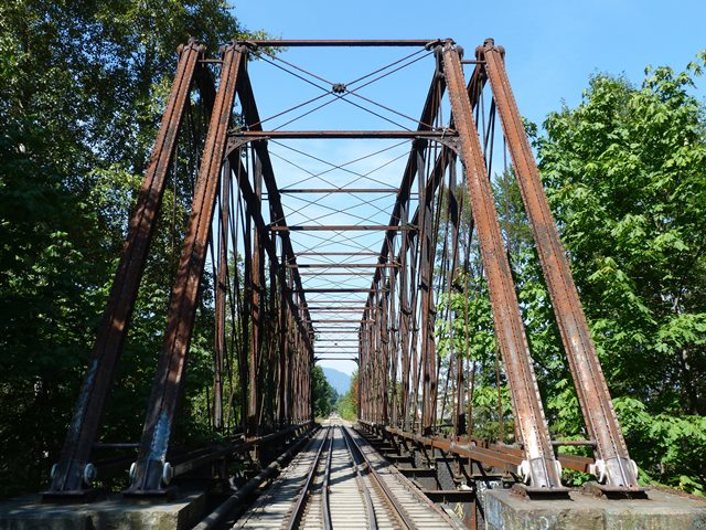 Cowichan River Railway Bridge