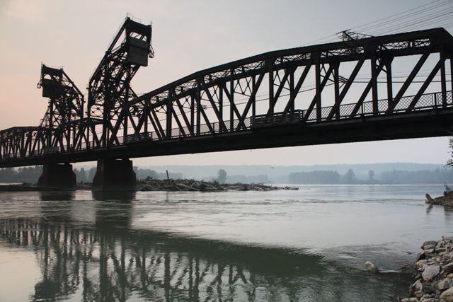 Prince George Railway Bridge HistoricBridgesorg