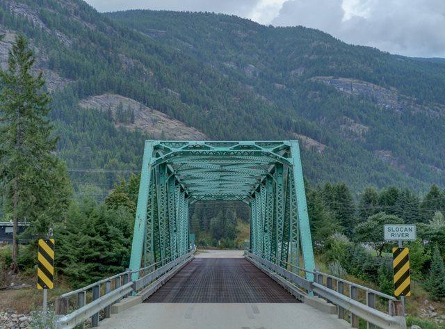 Slocan Valley Road Bridge