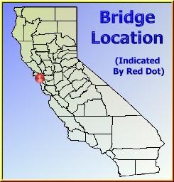 HistoricBridgesorg San Francisco Oakland Bay Bridge Map