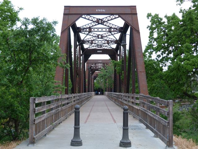 Winters Railroad Bridge