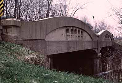 MDOT Historic Bridge St. Clair County Wadhams Rd. / Pine River