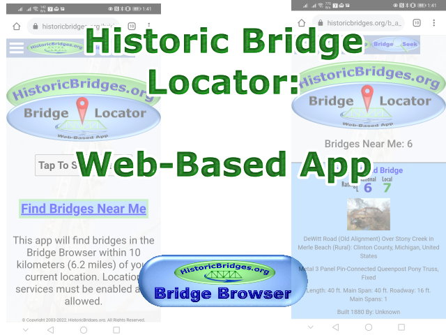 Bridge Finder App: Find Nearby Bridges