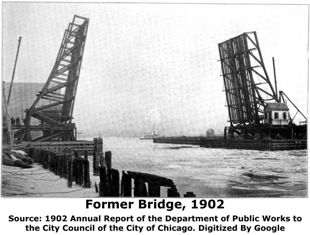 Previous 95th Street Bridge Raised