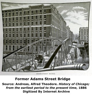 Former Adams Street Bridge