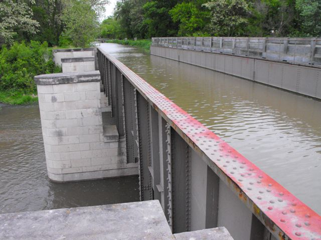Aux Sable Creek Aqueduct