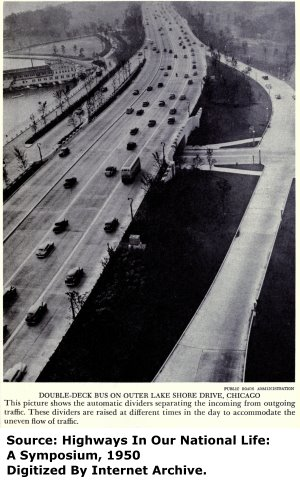 Aerial View Showing Belmont Avenue Overpass