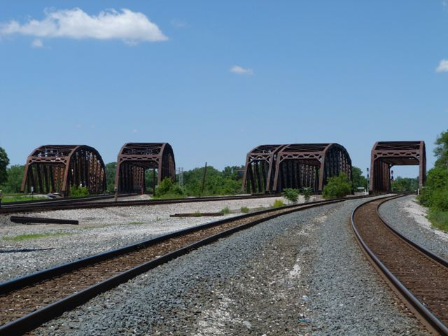 Blue Island Junction Railroad Bridges
