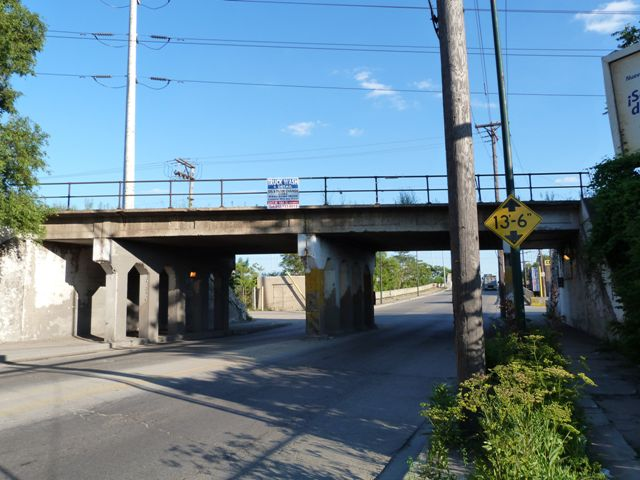 California Avenue C and WI Railroad Overpass