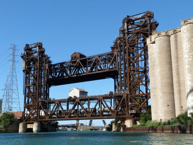 Calumet River Norfolk Southern Railroad Bridges