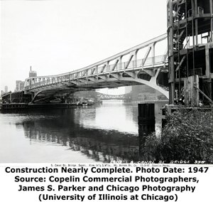 Canal Street Bridge Construction