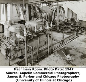 Canal Street Bridge Machinery Room