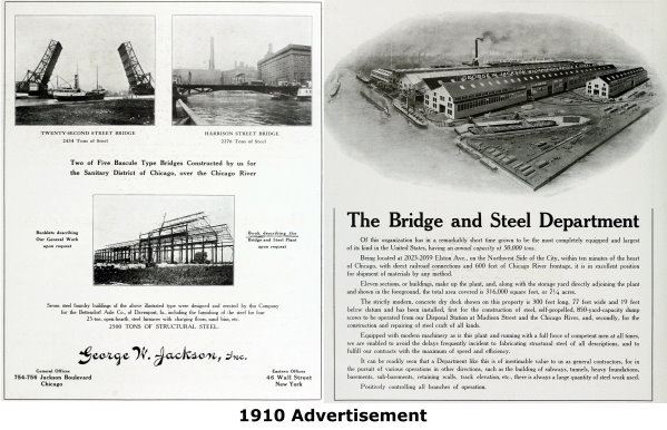 George W. Jackson Company Advertisement