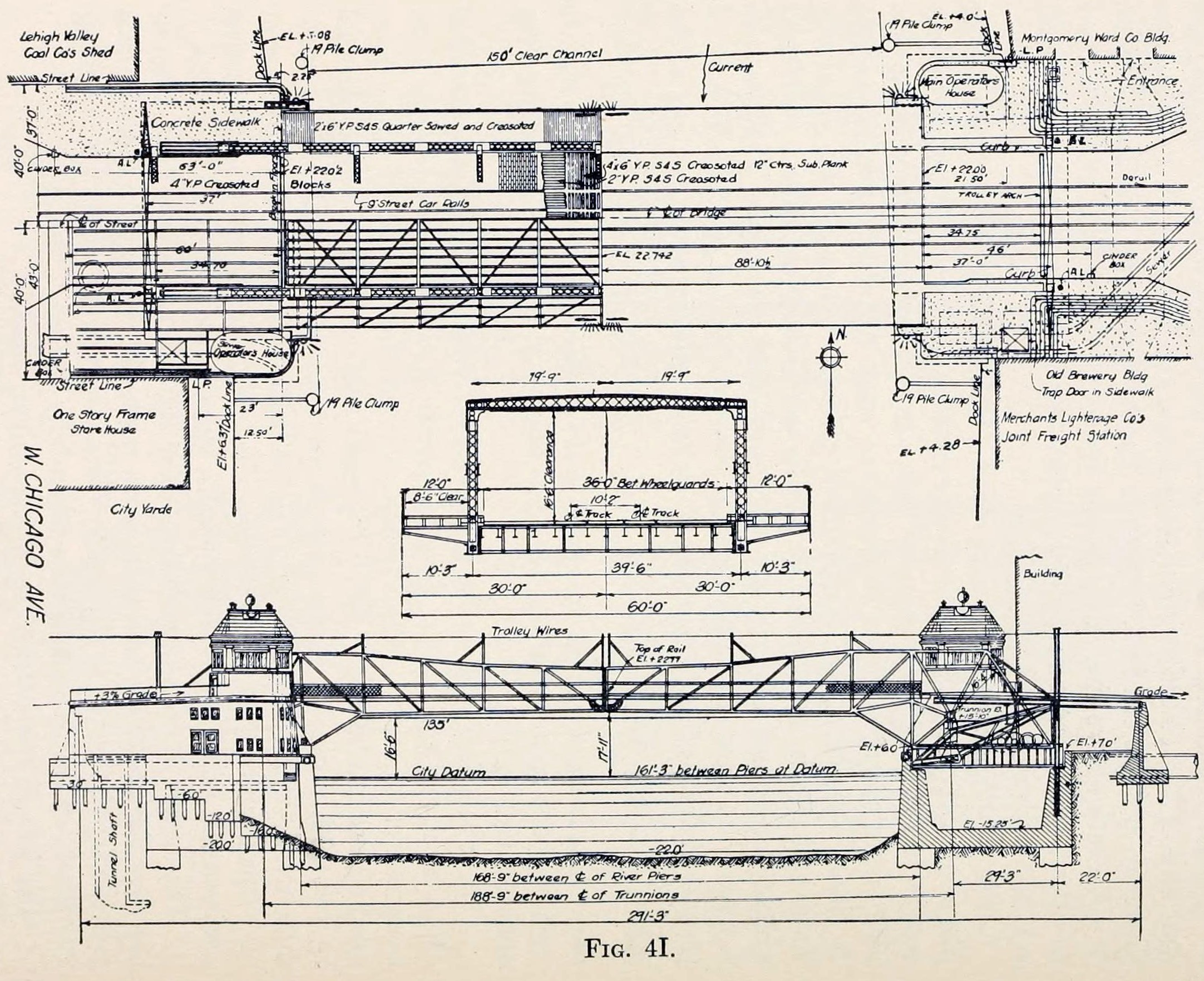 Fine Architectural Drawings Of Bridges For A Bridge Memorial In S