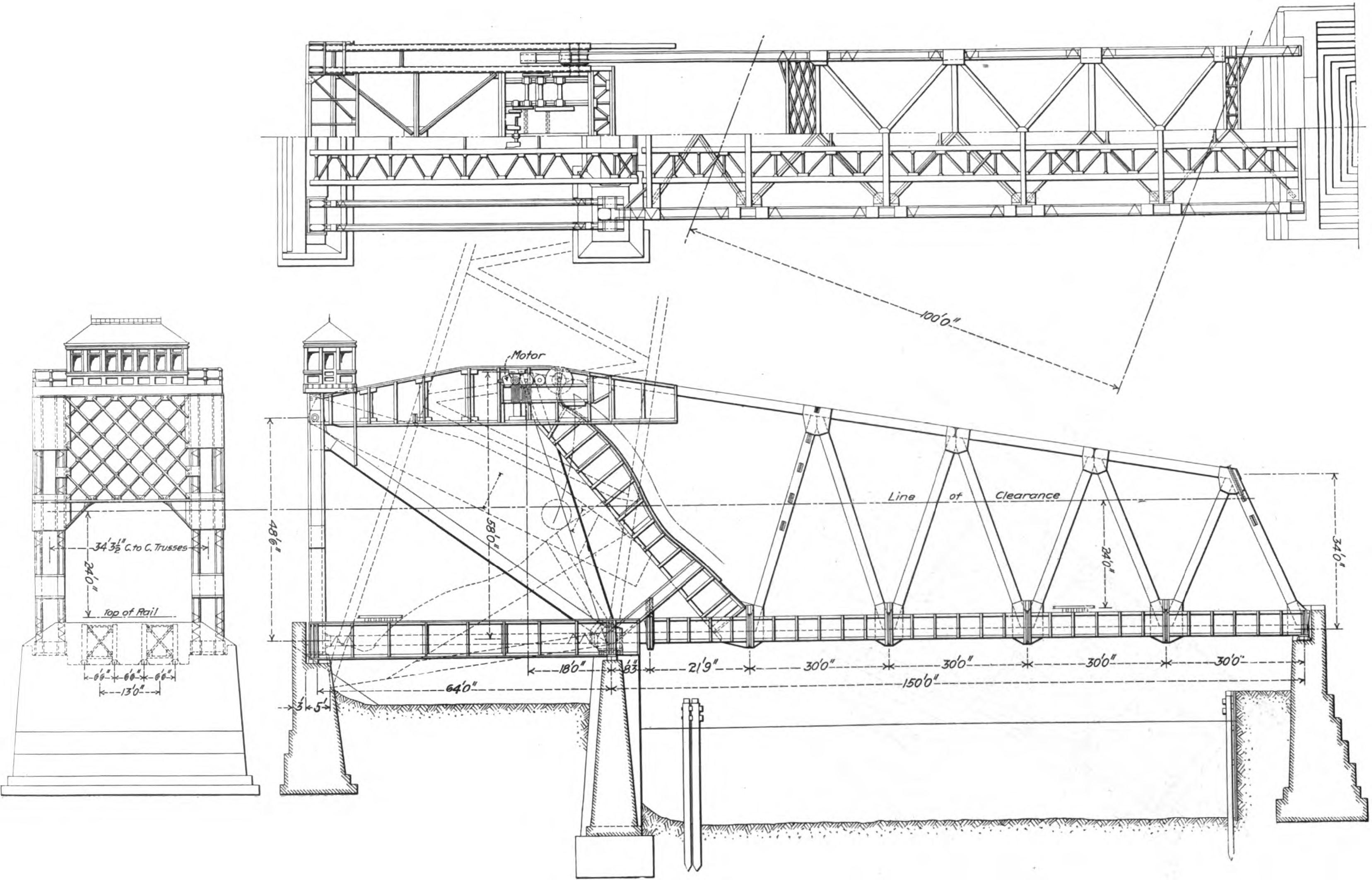 Engineering Drawing Bridge