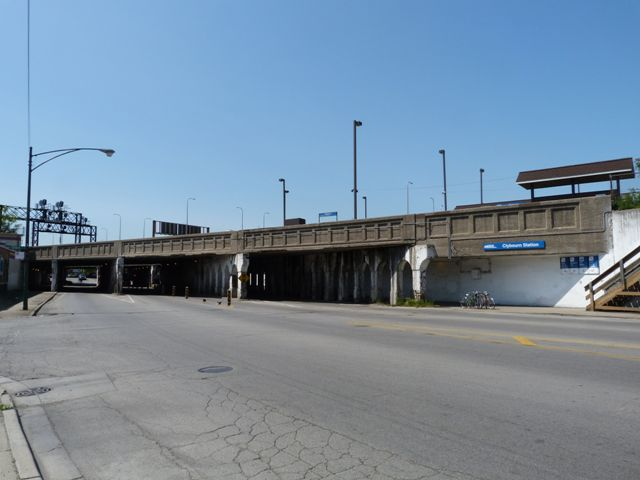 Clybourn Station Bridge