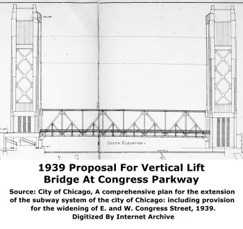Congress Parkway Vertical Lift Proposal