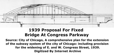 Congress Parkway Fixed Bridge Proposal