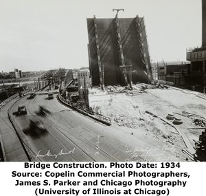 Halsted Street Sanitary and Ship Canal Bridge Construction