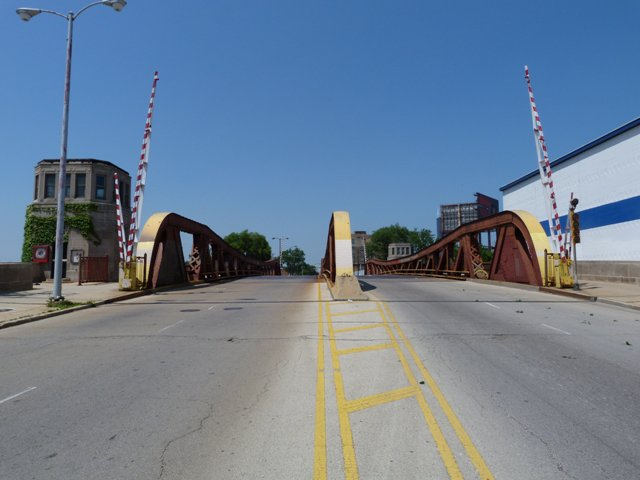 Halsted Street South Branch Bridge