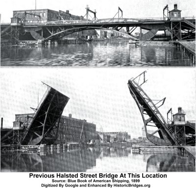 Previous Halsted Street North Branch Bridge