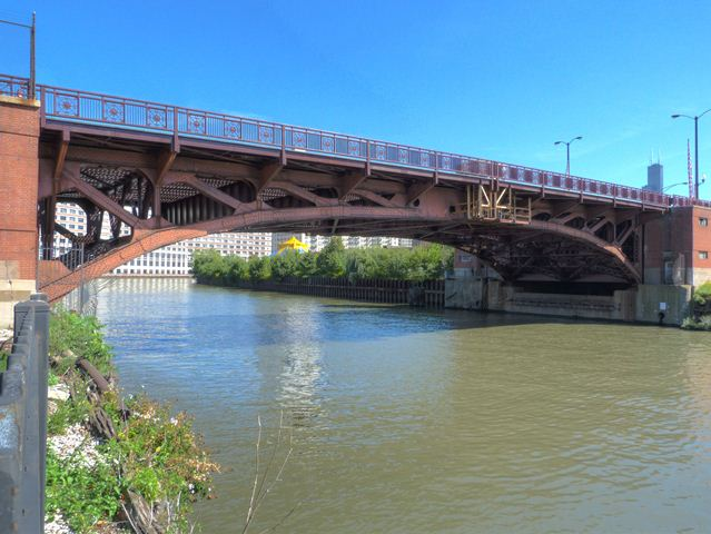 Halsted Street North Branch Bridge