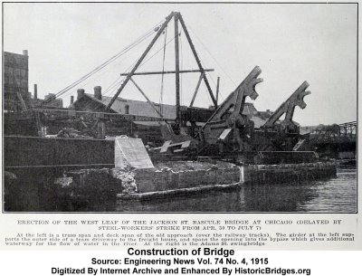 Jackson Boulevard Bridge Construction