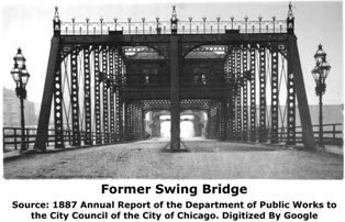 Former Jackson Boulevard Swing Bridge