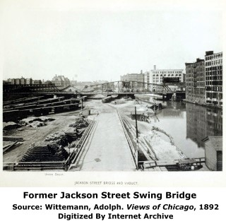 Former Jackson Street Swing Bridge