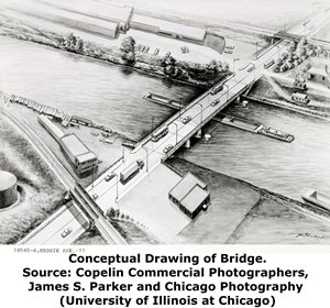 Kedzie Avenue Bridge Conceptual Drawing