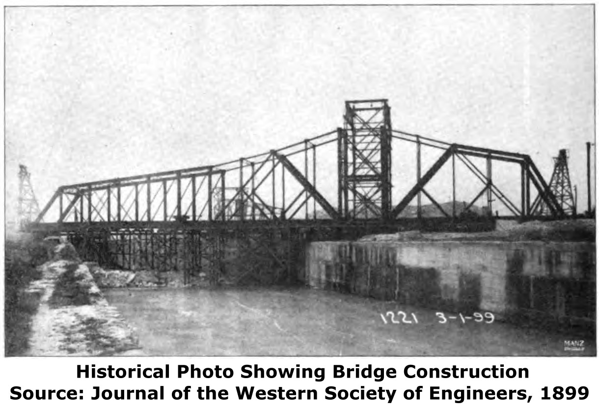 Lemont Railroad Bridge - HistoricBridges org