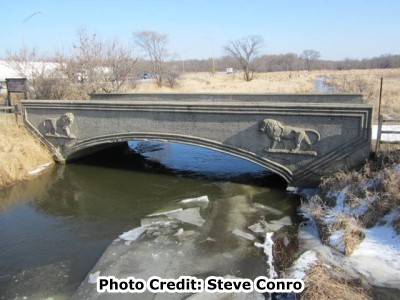Cook County Lion Bridge