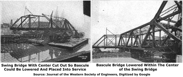 Deering Bridge Construction