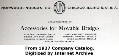 Norwood - Noonan Company Chicago Advertisement