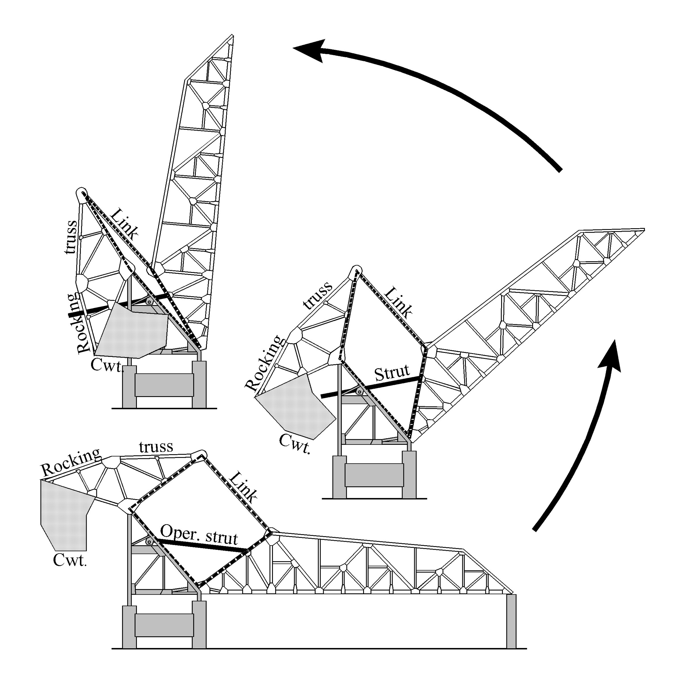 43 Warren Truss Bridge Diagram The First Was Probably A Schematic Of Scal In 1919 Not To Scale With Stationary Parts Grey Tone Sketch By Author