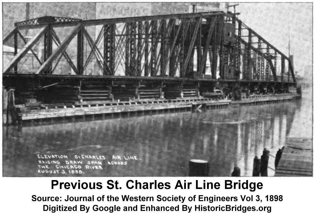 St Charles Air Line Bridge 18th Street Railroad Camber Diagram Furthermore Warren Truss Further Previous