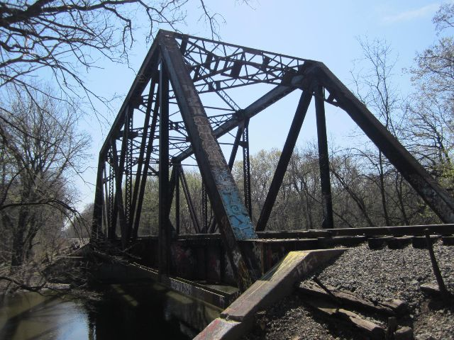 Historicbridges Org Des Plaines River Soo Line Railroad