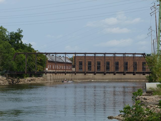 Sylvan Island Railroad Bridge