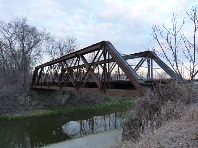 Illinois and Michigan Canal Railroad Bridge