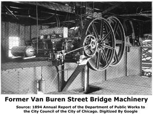 Former Van Buren Street Bridge Machinery Room
