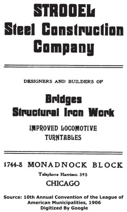 Strobel Steel Construction Company Chicago