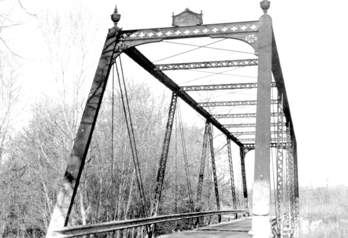 Friendship Gardens Bridge Hendricks County Bridge 216