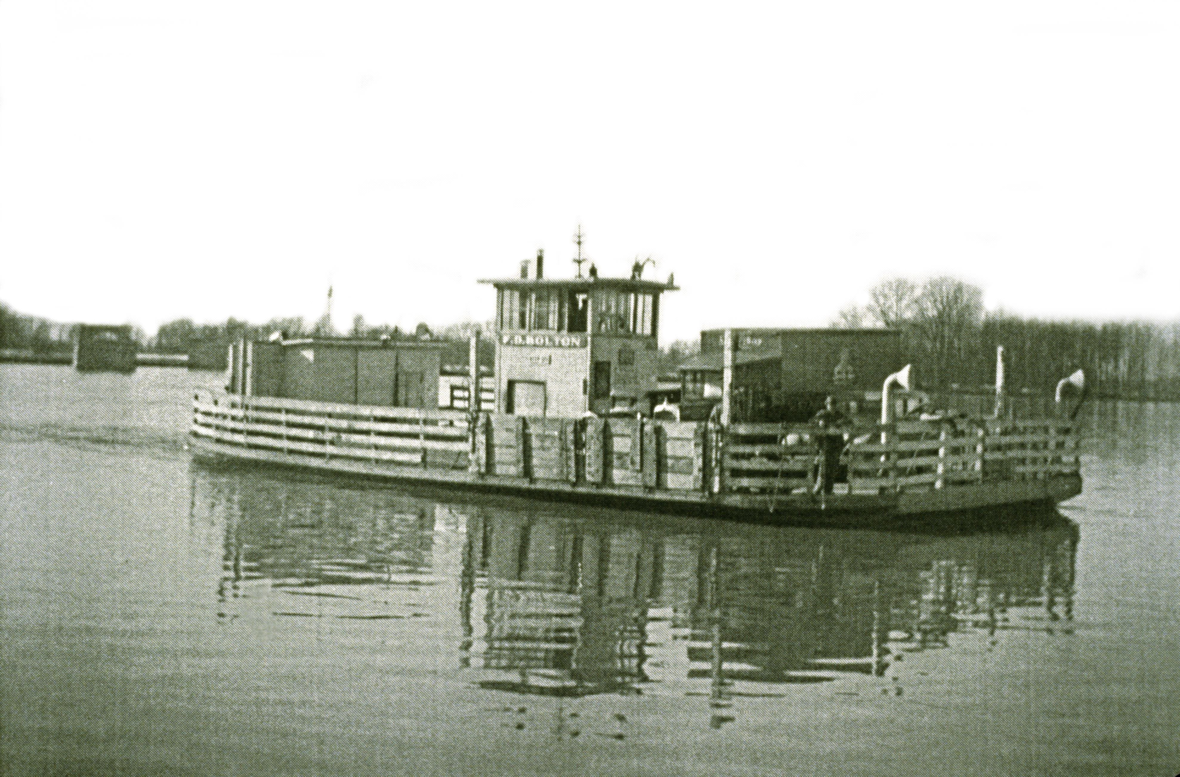 Indiana clay county harmony - The Old Ferry That Once Operated At New Harmony