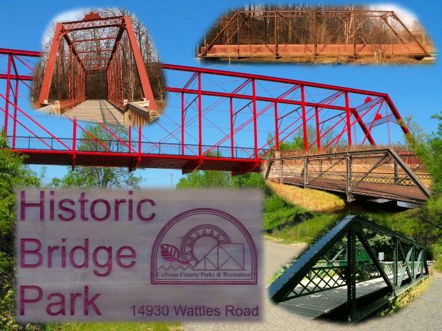 East Orange Focus >> Historic Bridge Park of Calhoun County, Michigan