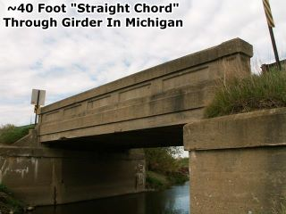 Construction steel bridge | through truss.