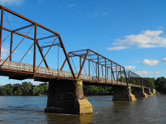 Bentonsport Iowa Map.Bentonsport Bridge Historicbridges Org