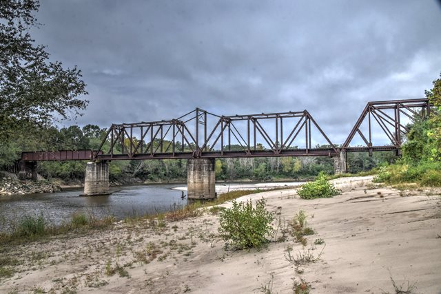 Sabine River Railroad Bridge