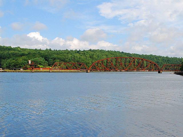 Wiscasset Railroad Bridge