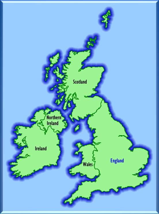 Map Of Ireland United Kingdom.Historic Bridges United Kingdom And Ireland